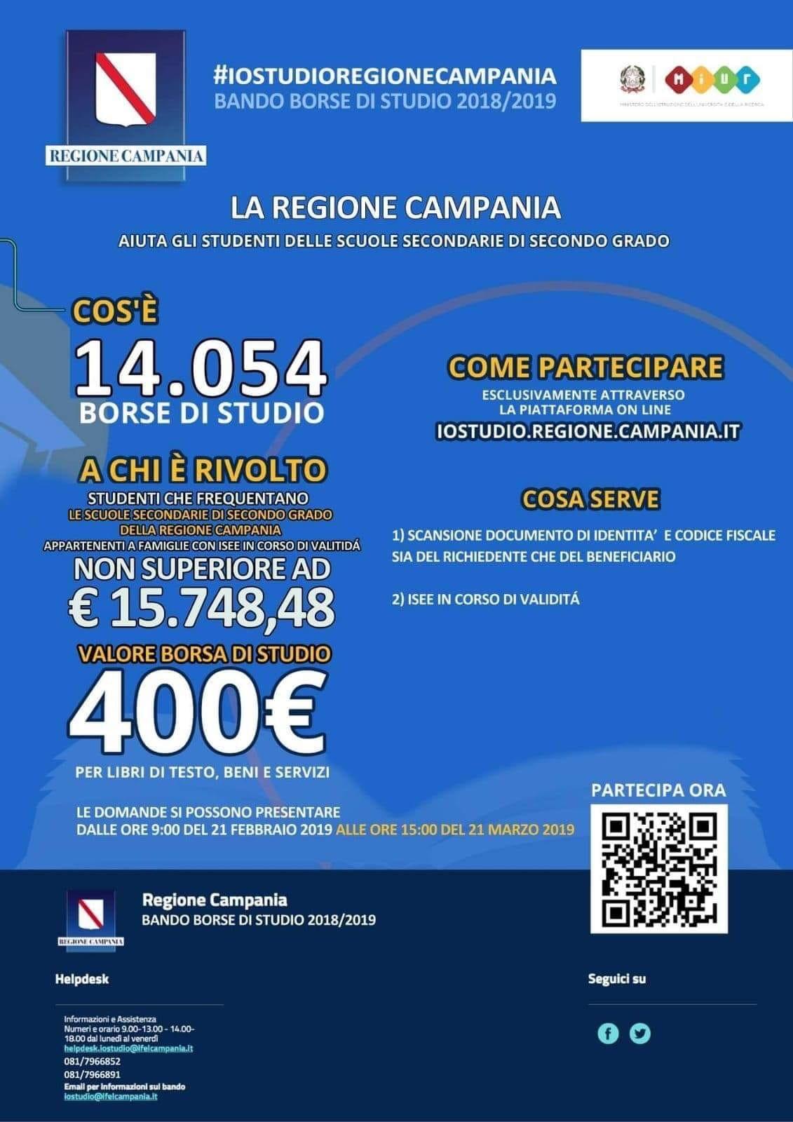 codice promozionale prezzo ufficiale prima clienti BORSE DI STUDIO REGIONE CAMPANIA - Comune di Teggiano
